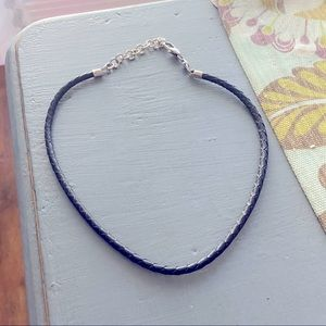Brighton Add A Charm Braided Leather Necklace